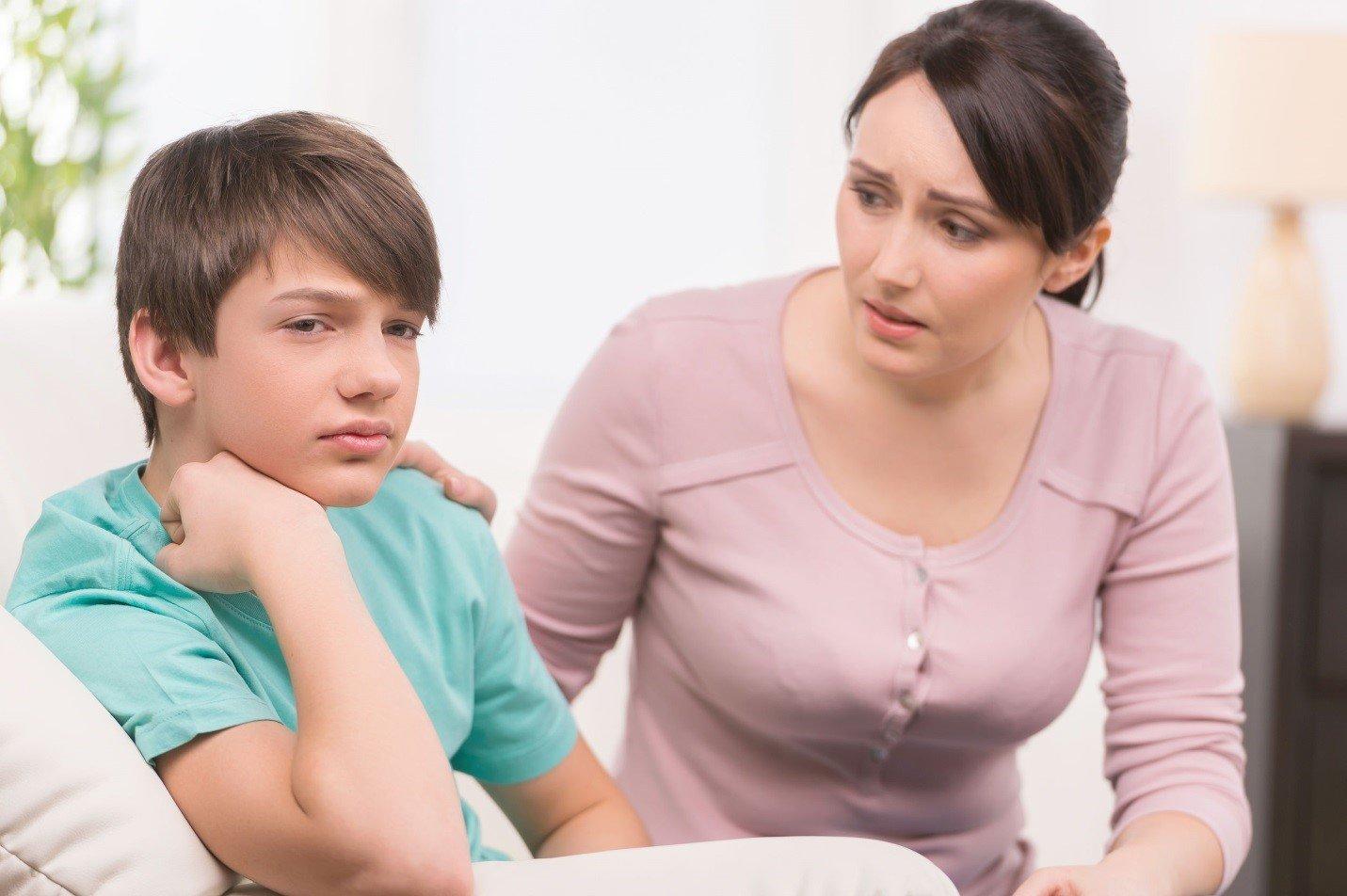 Онлайн мама и сын