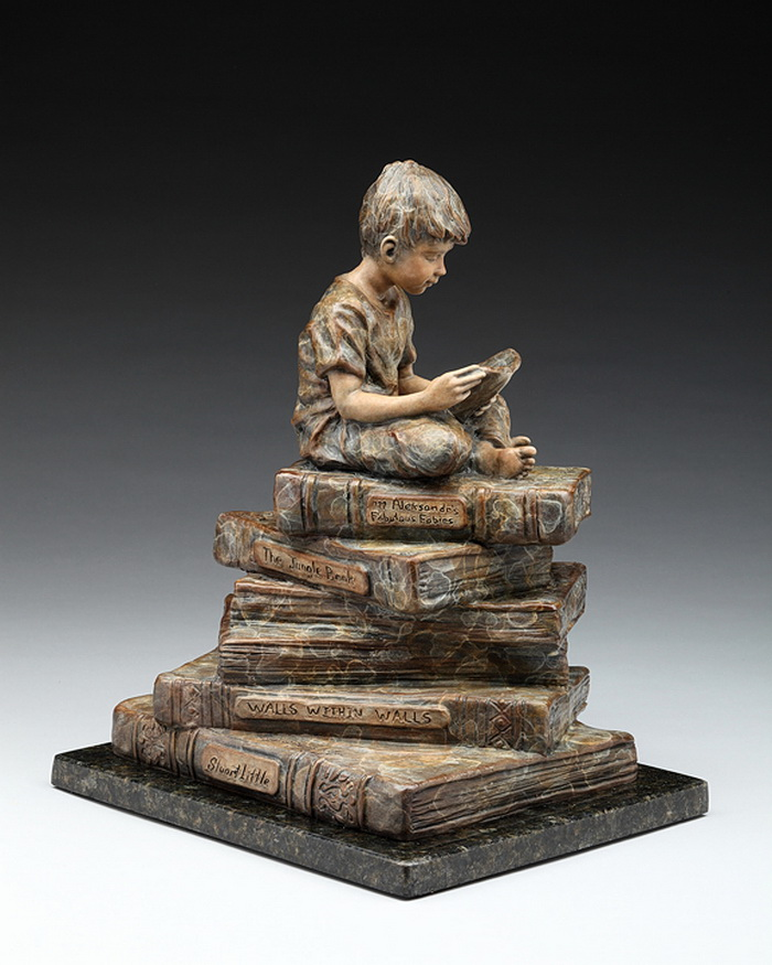 Бронзовые скульптуры, счастливое детство. - Ёжин.ру