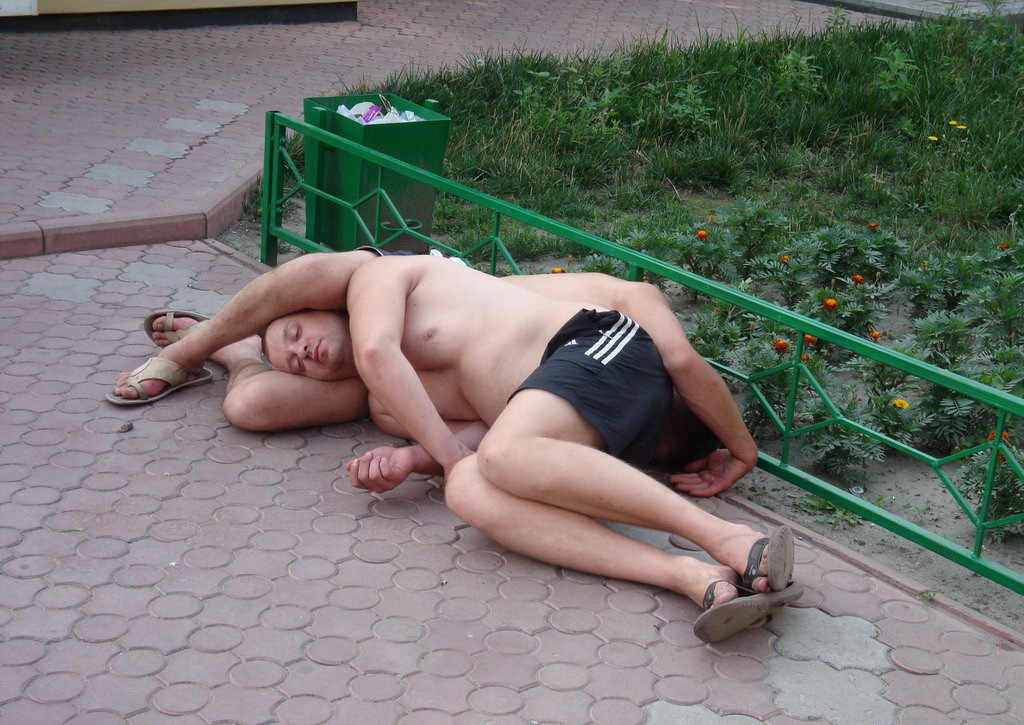 Спящие пьяницы фотки