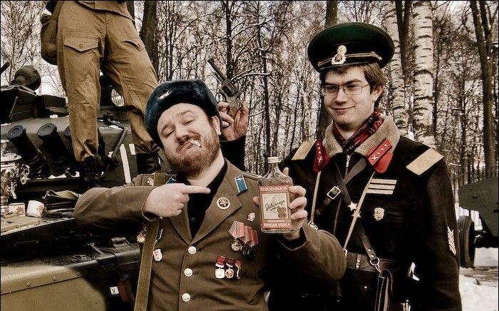 Русские глазами иностранцев