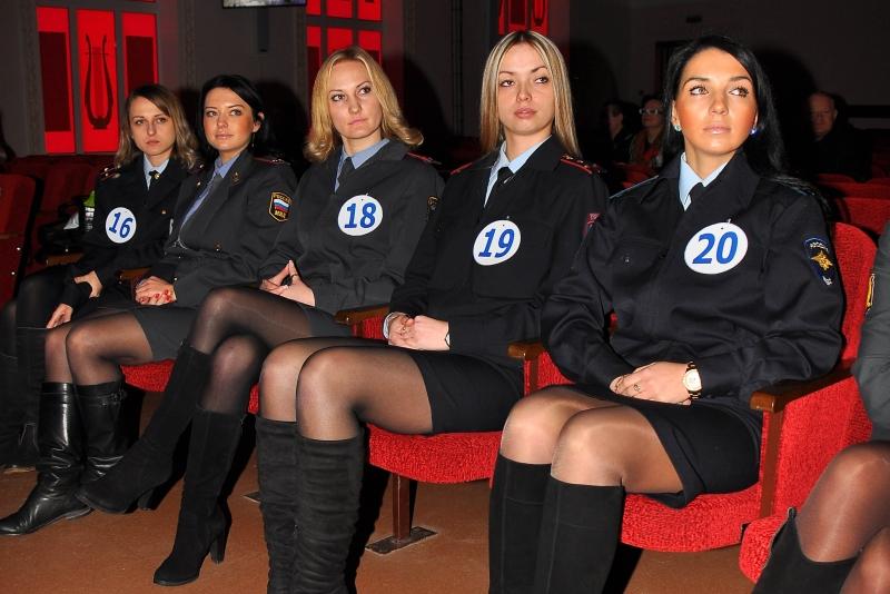 фото девушки милиции в юбках - 6