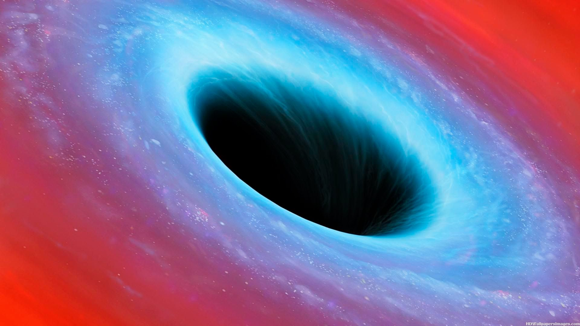 black holes in space - HD 1920×1080