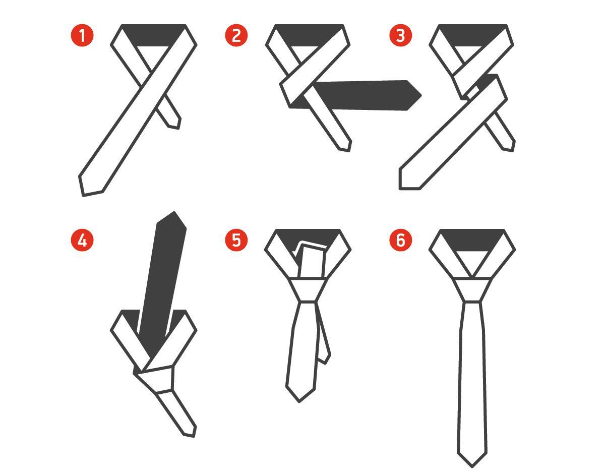 сложные способы завязывания галстука в картинках требовательный, неистовый