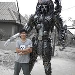 Реалистичные скульптуры из металла.