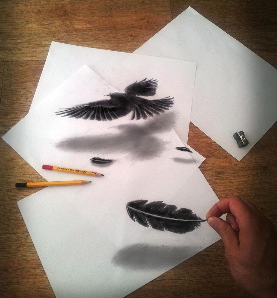 невероятно как сделать красивую картинку карандашом только блинчики начинкой