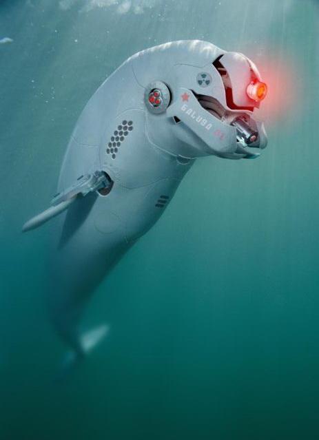 Животные роботы, фото.