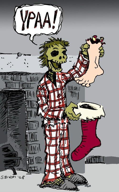 Картинки, рисунки зомби смешные