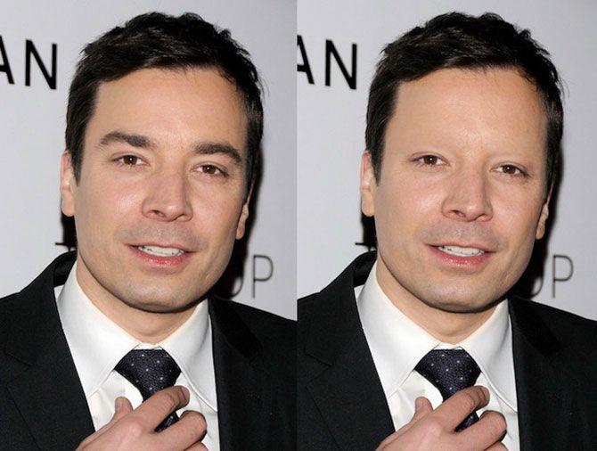 человек фото без бровей