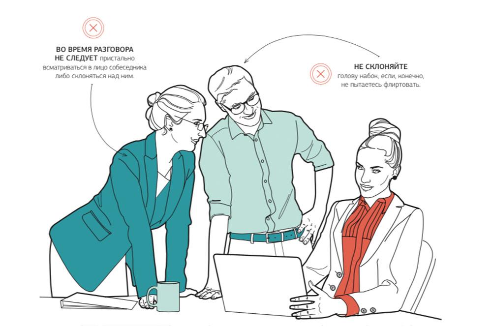 Правила этикета, для офисных сотрудников
