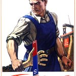 Агитационные плакаты времен СССР часть 1