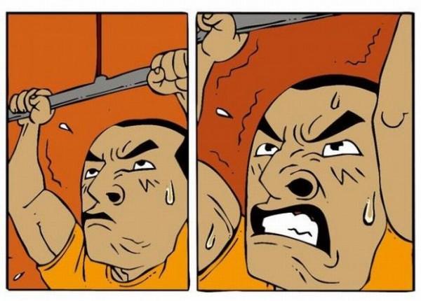 Комикс про настоящую мужскую дружбу