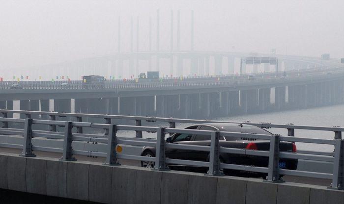 Самый длинный мост в мире, шикарные фото