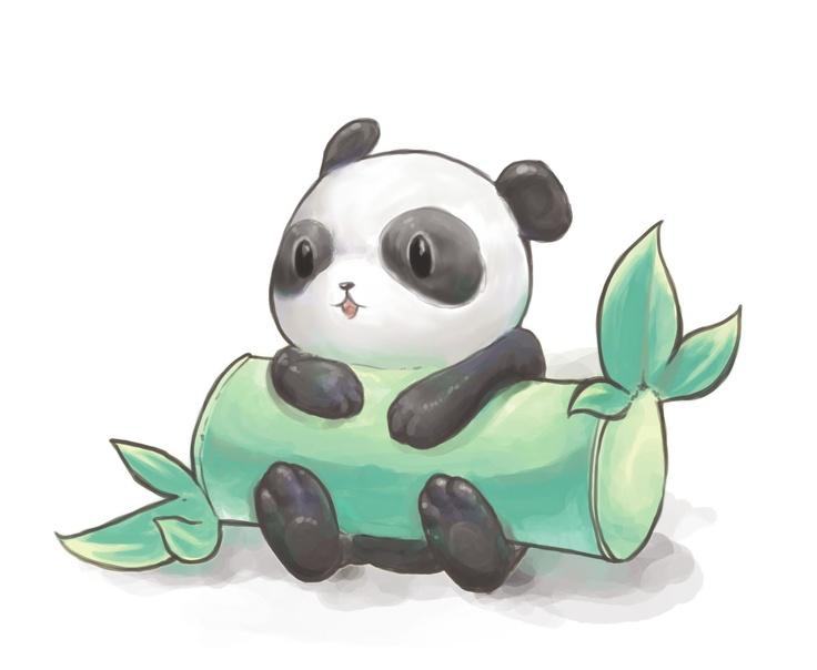 Прикольные картинки для срисовки панд