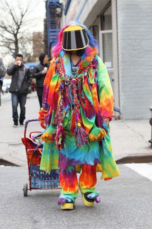 Странные люди, прикольная одежда