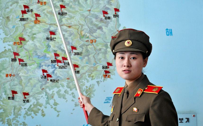 Северная Корея - вид изнутри