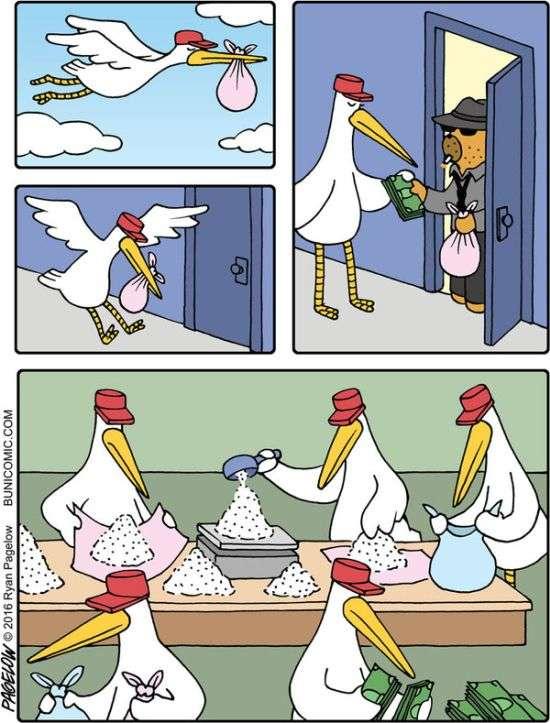 Комиксы черный юмор