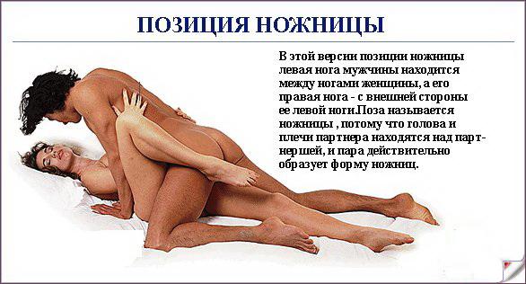 Начинающие позы в сексе