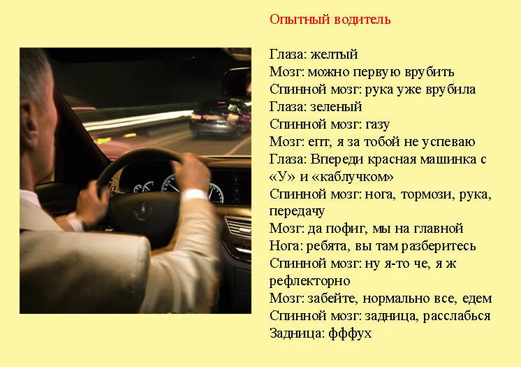 Стихи про водителей прикольные