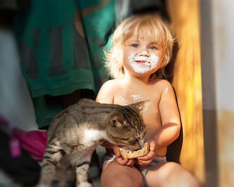 Прикольные животные, взрослые и малыши