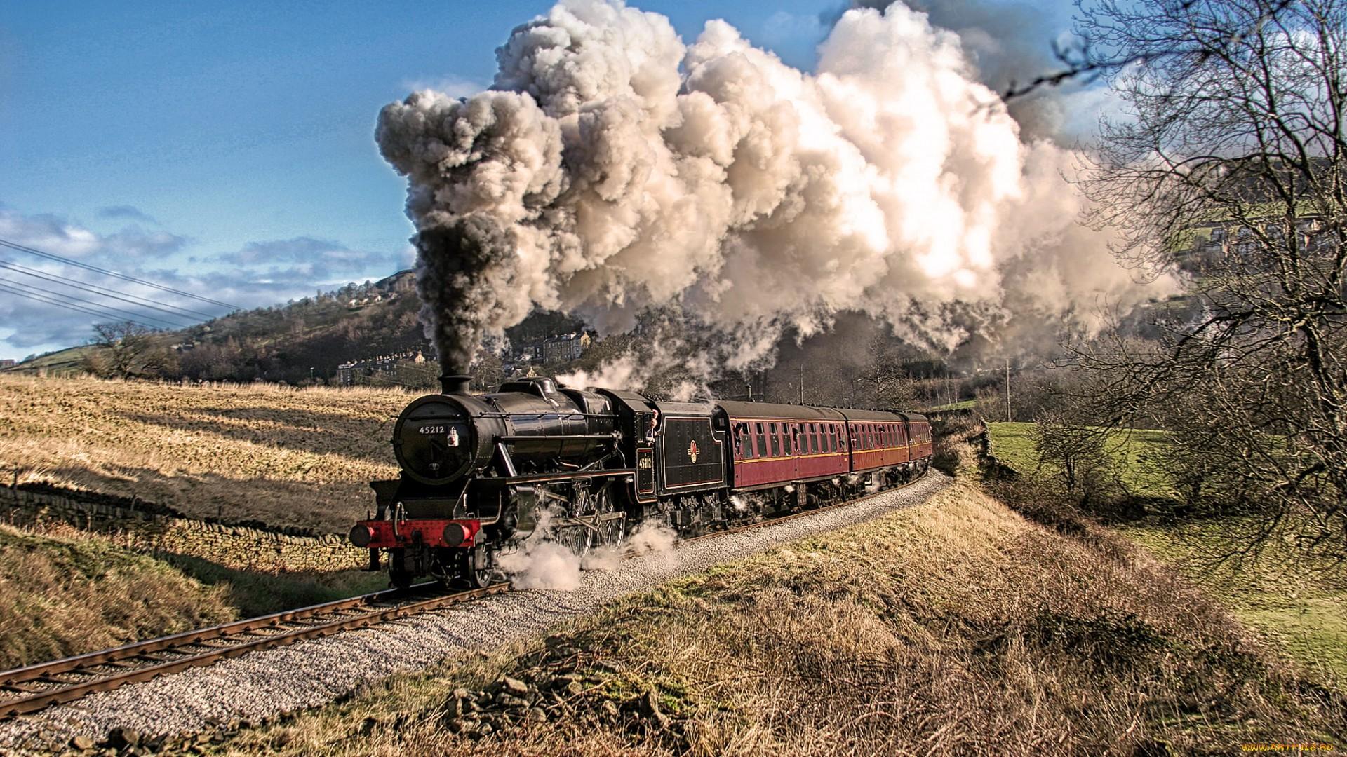 Паровоз поезд смотреть