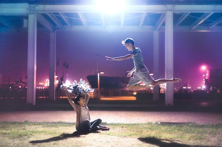 Танцы в воздухе