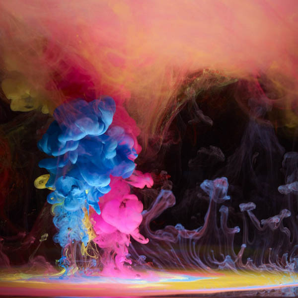 Вода и краски. Потрясающие фото