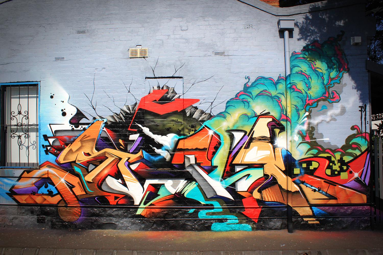Картинки красивые граффити