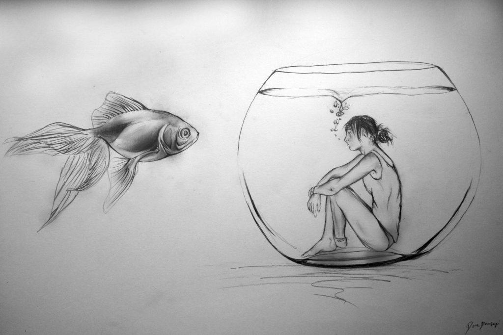 Рисунки карандашом интересные картинки