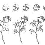 Картинки для срисовки «цветы»