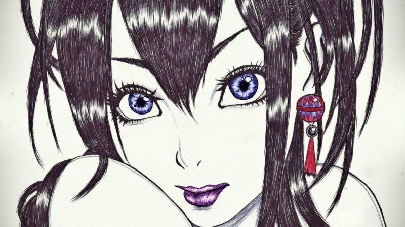 картинки для срисовки для начинающих аниме