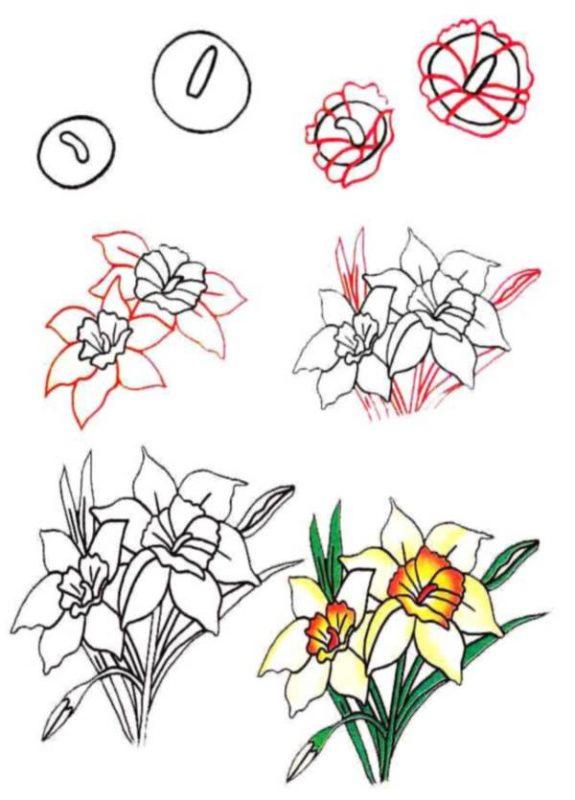 Картинки для срисовки простым карандашом про любовь 4