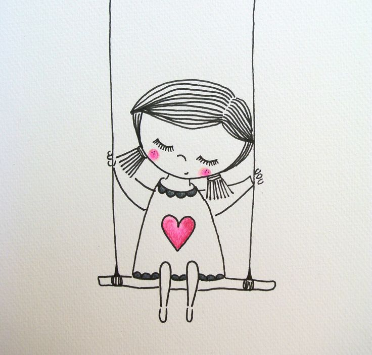 Идеи для лд картинки для срисовки девушки