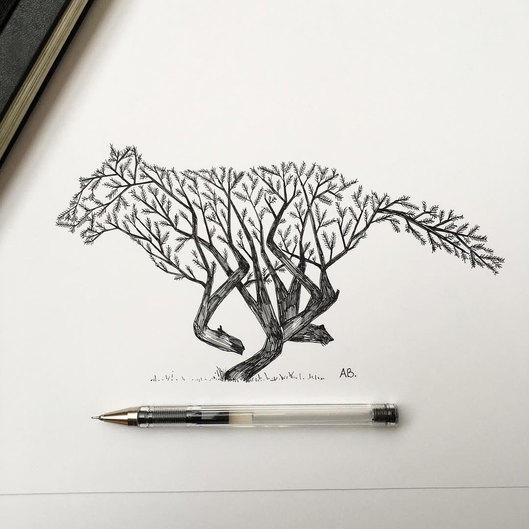 Картинки для срисовки графические