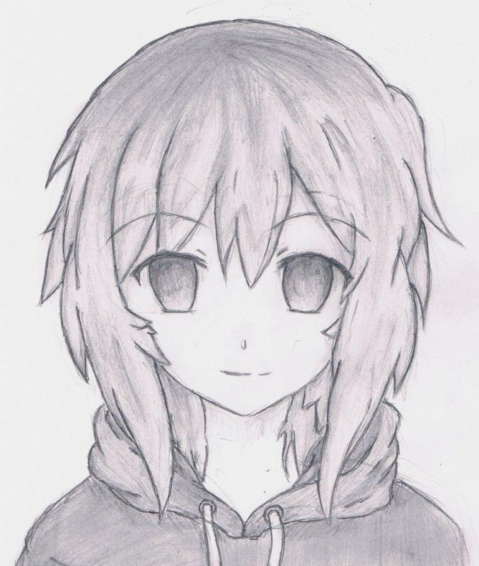 картинки для срисовки из аниме