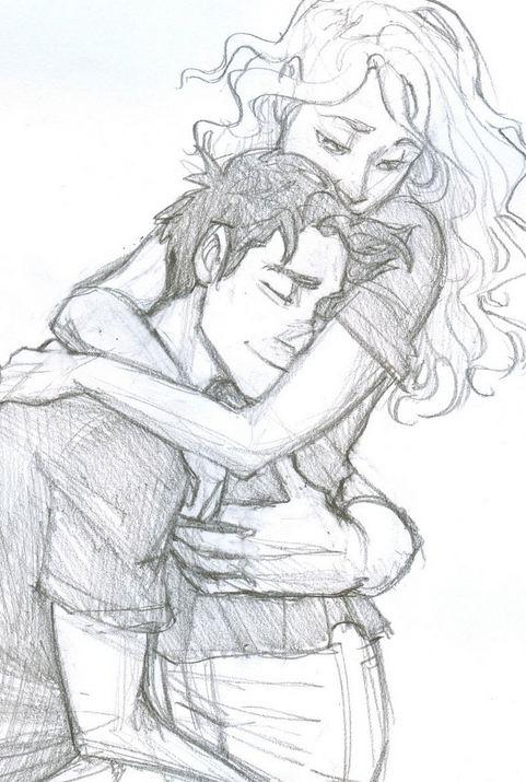 картинки влюбленные пары нарисованные карандашом