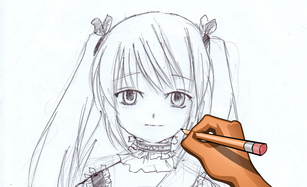 Картинки целующиеся девушки аниме