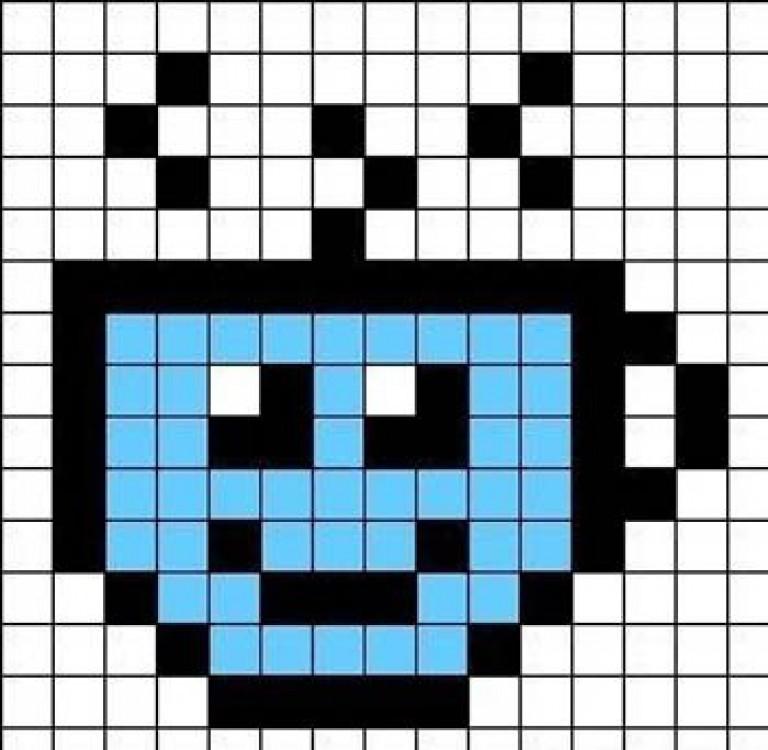 картинки рисовать по квадратами