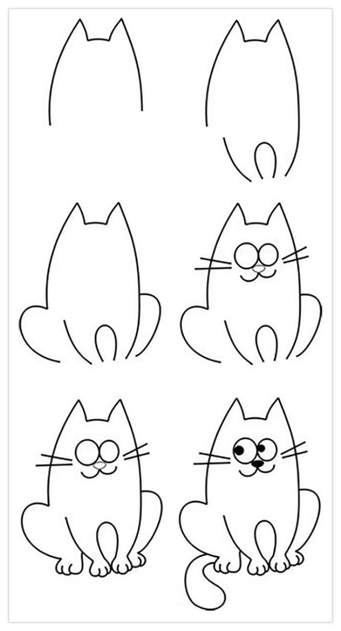 Картинки для срисовки карандашом красивые и легкие поэтапно
