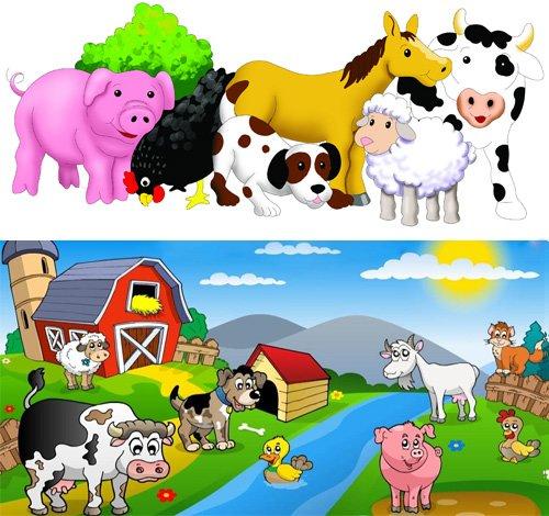 Дети домашние животные фото и названия