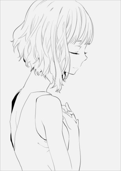 Черно-белые картинки аниме