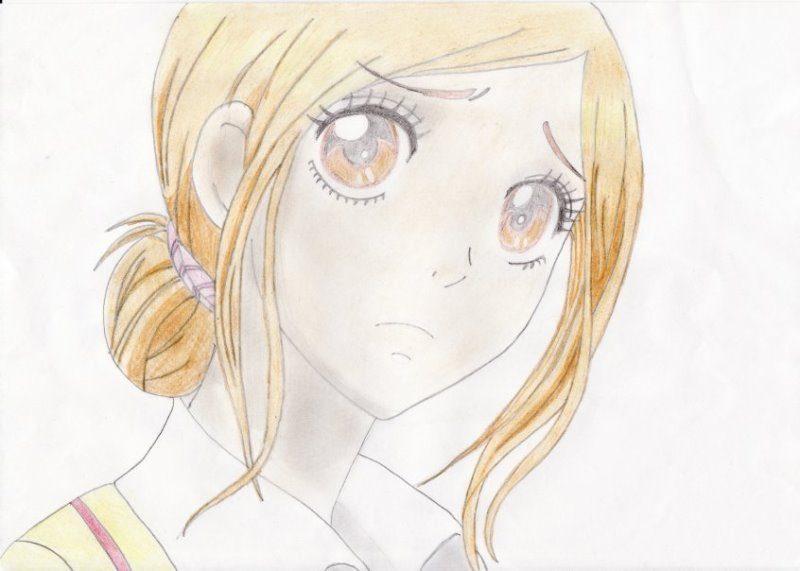 Аниме рисунки девушек