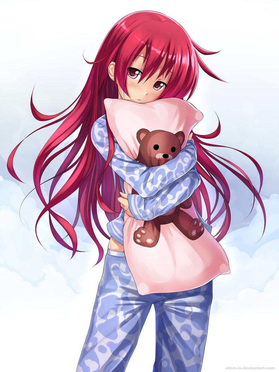 Картинки маленькие девочки с красными волосами