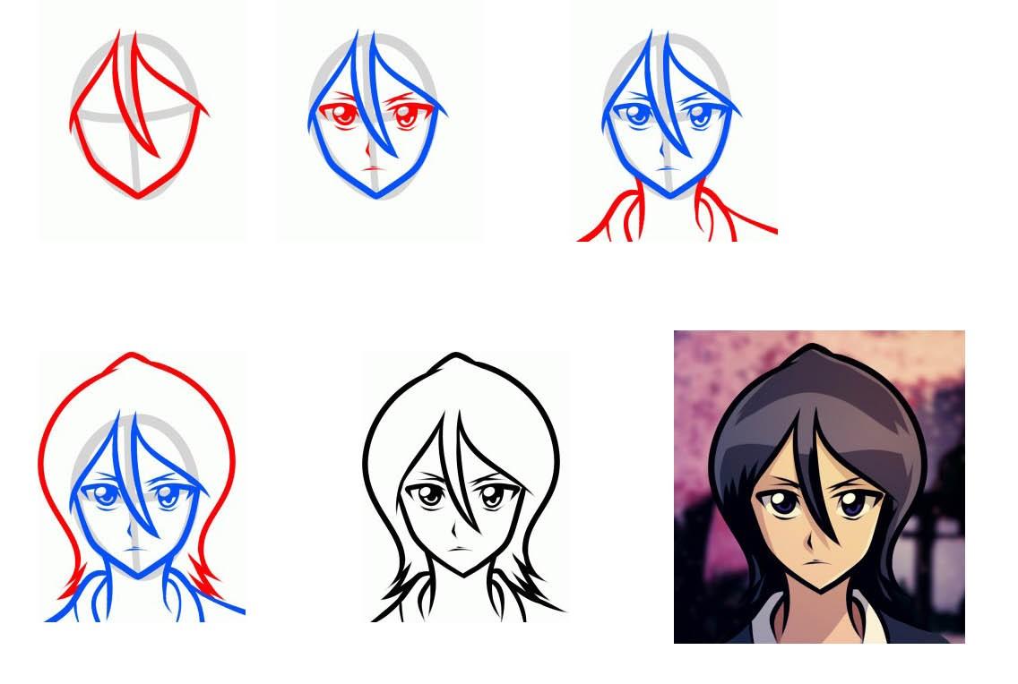 Как легко и просто рисовать карандашом ручкой или