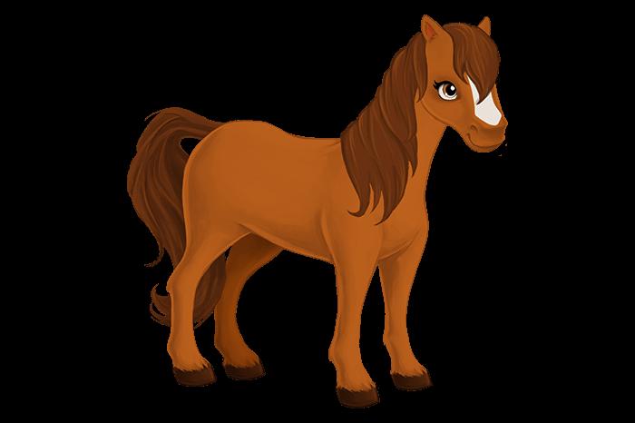 Рулем, лошадь в картинках для детей