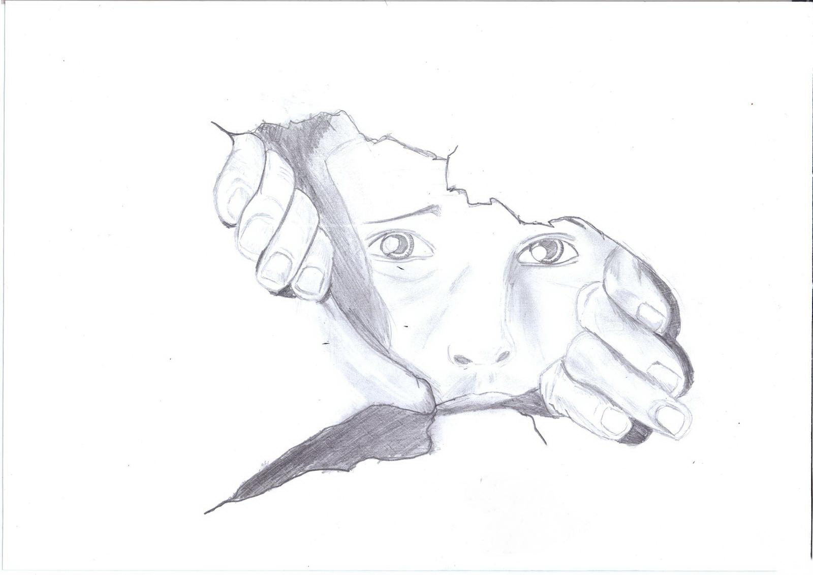 еще, нарисовать поэтапно грустные картинки или клубника самое