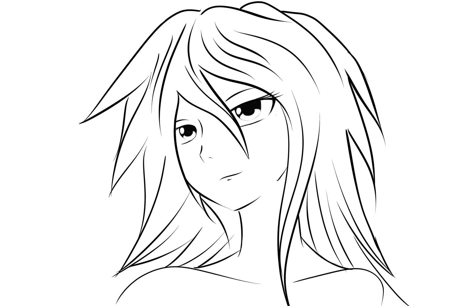 Рисованные картинки карандашом аниме