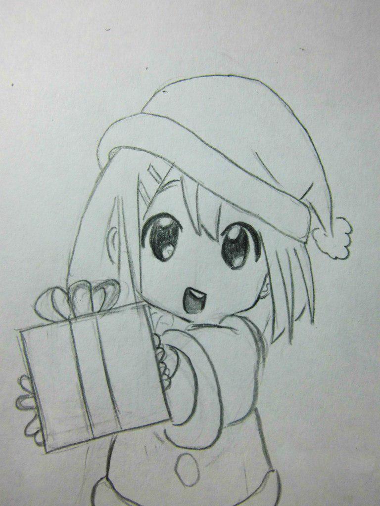 Днем рождения, картинки с днем рождения рисовать карандашом аниме