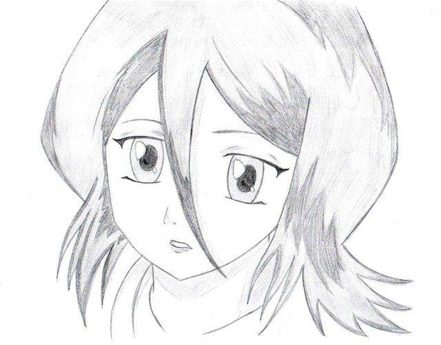 фото рисунки аниме карандашом фото