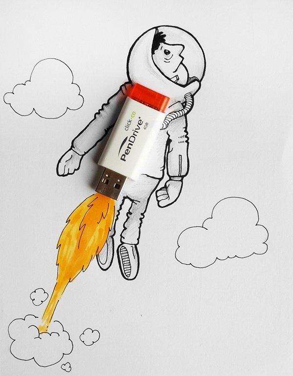 Днем, смешные рисунки нарисованные с карандашом
