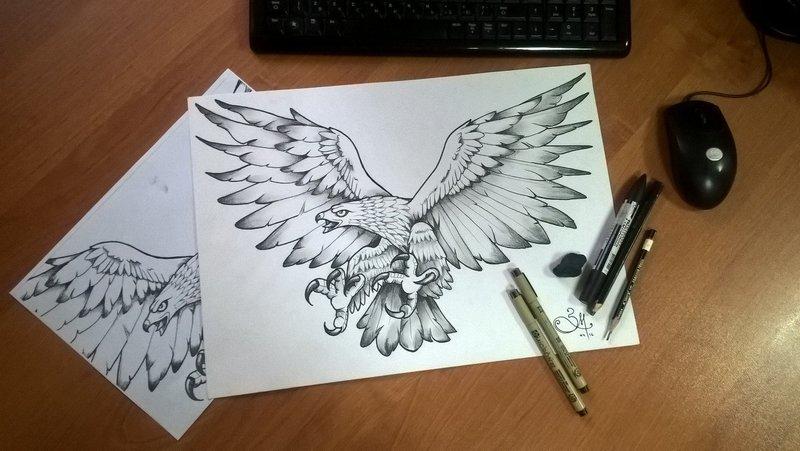 Тату рисунки карандашом